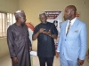 ICPC Chairman, Ekpo Nta, discussing with Sen. Utazi Chukwuka and Sen. Isah Misau