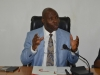 Sen. Utazi Chukwuka, Chairman Senate Committe on Anti-Corruption and Financial Crimes addressing the meeting