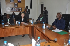 Visit of United Nationals Peer Review Team on Convention Against Corruption