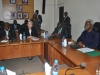 ICPC Chairman Ekpo Nta with UN Peer Review Team During a Courtesy Call on ICPC on 9th March 2014