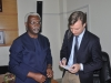 ICPC Chairman with Samuel de Jaegere Head, UNODC Senegal