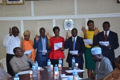ACTU Inauguration at the Citizens and Leadership Training Centre (CLTC)