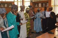 ACTU Inauguration at the Joint Admissions and Matriculation Board (JAMB)