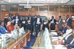 ACTU Inauguration at the Nigeria Depoait Insurance Corporation (NDIC)