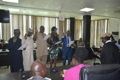 ACTU Inauguration at the Nigerian Meteorological Agency [NIMET]