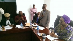 ACTU Inauguration at the Pension Transitional Arrangement Directorate (PTAD)