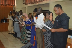 ACTU Inauguration at the Revenue Mobilization and Fiscal Commission (RMAFC)