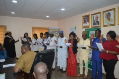 ACTU Inauguration at the Standards Organisation of Nigeria (SON)