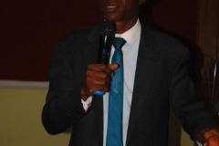 Chairman of Christian Association of Nigeria [CAN], EkitI State Chapter, Rev. Joshua R. Orikogbe, delivering a paper during the workshop