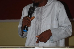 Dr. Bello Mufutau Olusola of the Department of Islamic Studies, Ekiti State University, delivering a paper during the workshop