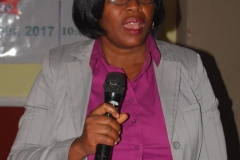 State Commissioner, ICPC Osun Office, Ngozi Olisaelo, who represented the ICPC Acting Chairman, Hon. Bako Abdullahi, speaking during the workshop