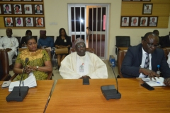 Courtesy call on ICPC Chairman by Ag. Director - General of Securities and Exchange Commission (SEC)