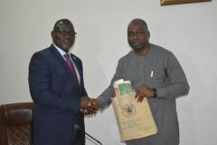 Courtesy call on ICPC Chairman by Chairman of Federal Inland Revenue Service (FIRS)