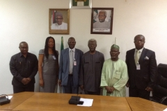 Delegation of QSRBN in a group photograph with ICPC Team