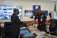Courtesy call on Inspector-General of Police by Chairman and Board of ICPC