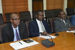 A cross section of ICPC management staff during the courtesy visit