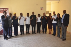 Courtesy Visit of the Akin Fadeyi Foundation to ICPC