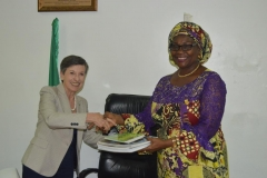 Courtesy Visit of the Chair of the International Board of Transparency International to ICPC