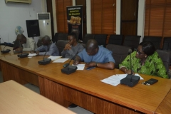A cross section of ICPC management staff
