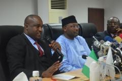 Acting Chairman ICPC, Dr. Musa Usman Abubakar delivering his speech
