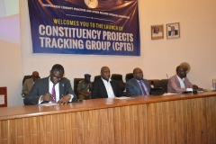 Launching of Constituency Projects Tracking Group (CPTG)