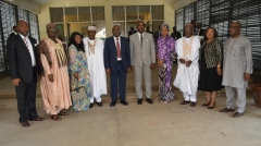 New ICPC Chairman, Prof. Bolaji Owasanoye and Board Members Assume Duty