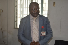 Commissioner, ICPC Zonal Office, Lagos, Mr. Shintema Binga, speaking during the presentation