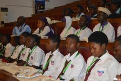 Cross section of students at the event.