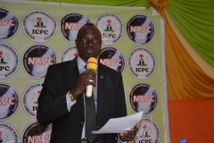 Re-Inauguration of the National Anti-Corruption Volunteer Corps (NAVC) in Abia and Delta States