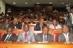 Members of staff of ICPC at the event