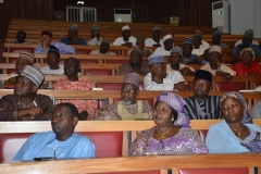 A cross section of participants during the workshop