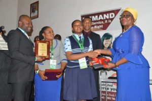 Sample Essay With Thesis Statement A Student Of Imperial Secondary School Eket Akwa Ibom State Mbong  Utibeabasi Has Emerged The Overall Winner Of The Anticorruption Essay  Competition  Science Topics For Essays also Modern Science Essay Imperial Sec Sch Student Wins Icpc Anticorruption Essay Competition  Argument Essay Thesis